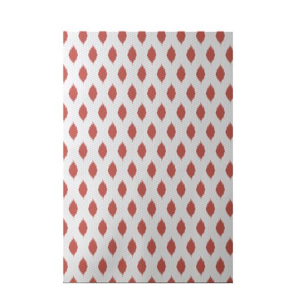 Cop-Ikat Geometric Print Seed Indoor/Outdoor Area Rug by e by design