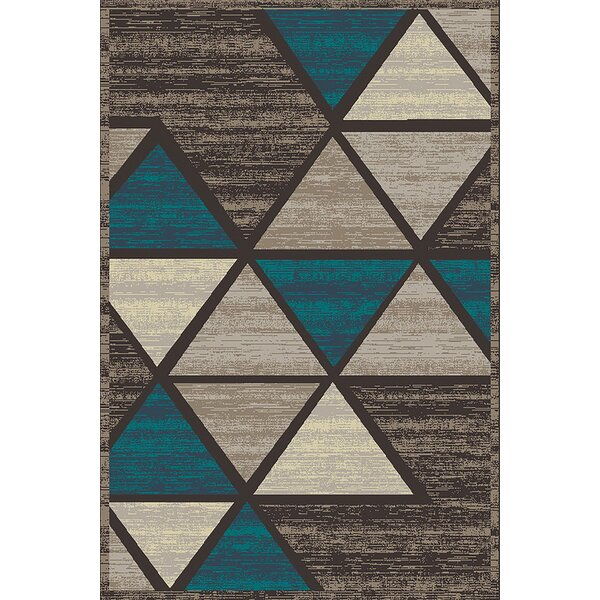 Cosper Blue/Gray Area Rug by George Oliver