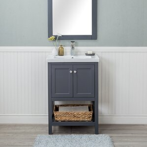 "Hagins 24"" Single Bathroom Vanity Set"