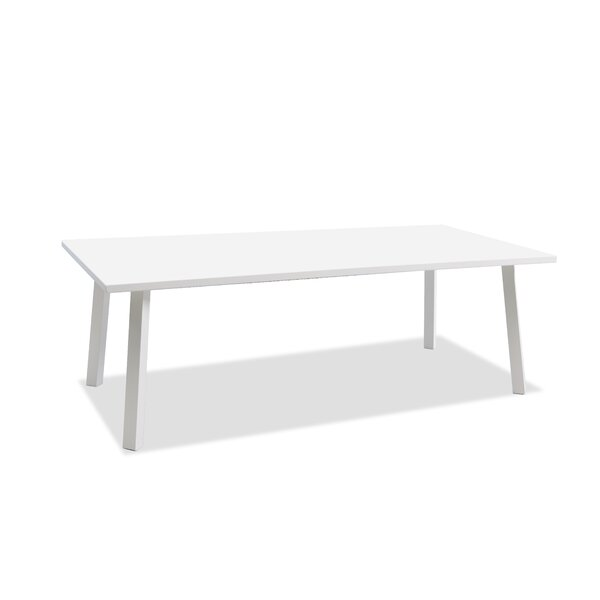 Indianola Metal Dining Table by Orren Ellis