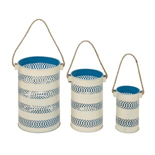Best Reviews 3 Piece Iron Lantern Set By Cole & Grey