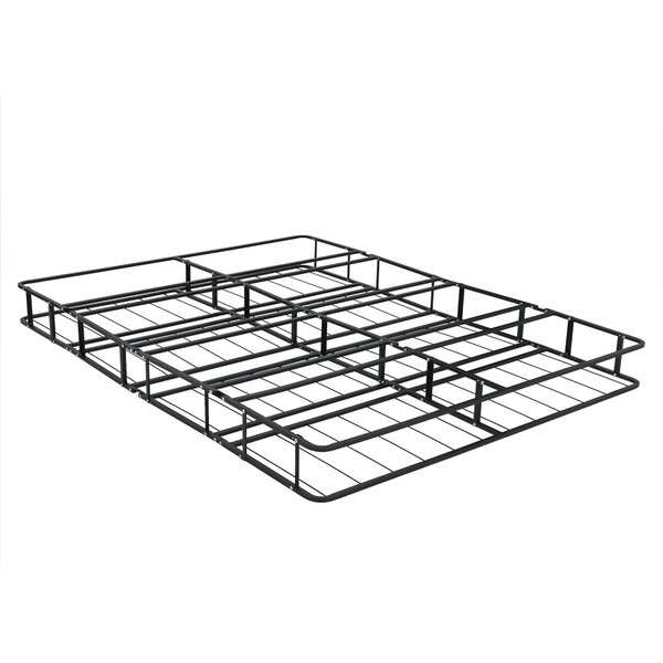 Belz Fully Assembled Metal Platform Foundation Bed Frame by Alwyn Home
