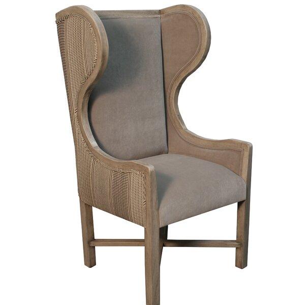 Klar Wingback Chair by Bayou Breeze