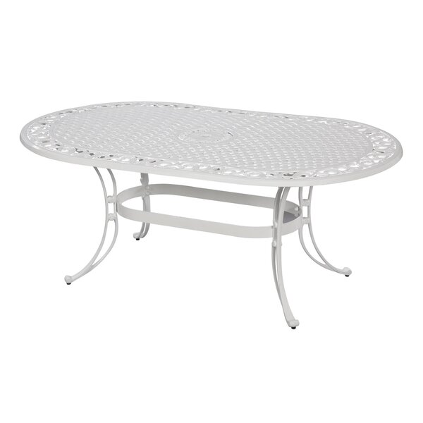 Van Glider Oval Dining Table by Astoria Grand