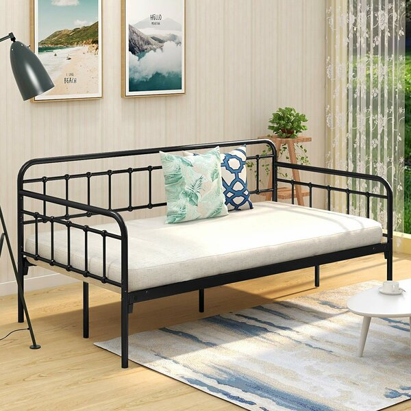 Weir Metal Twin Daybed By 17 Stories