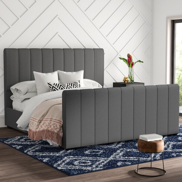 Northville Upholstered Platform Bed by Mercury Row
