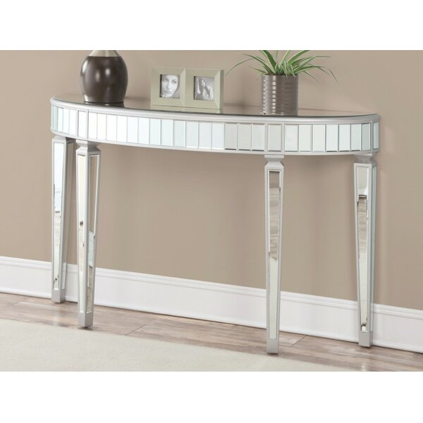 Review Jakarta Splendid Mirrored Console Table