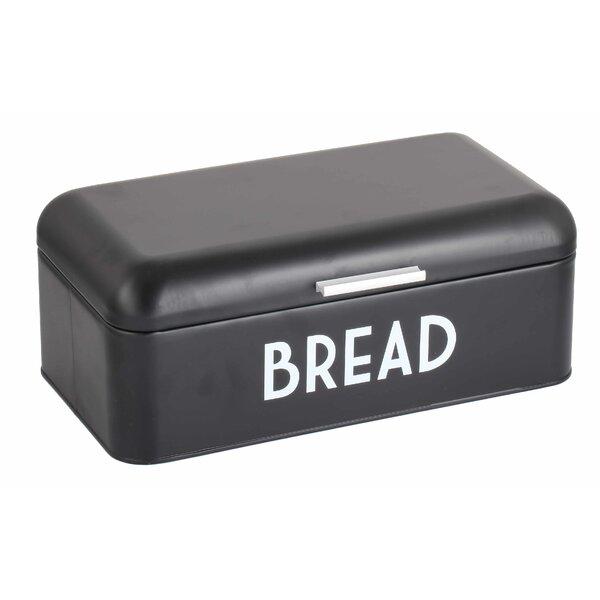 Metal Bread Box by Home Basics
