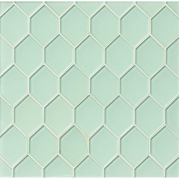 La Palma Glass Mosaic Tile in Shoreline by Grayson Martin