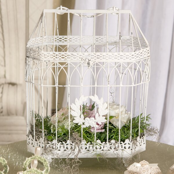 Conservatory Style Bird Cage by Weddingstar