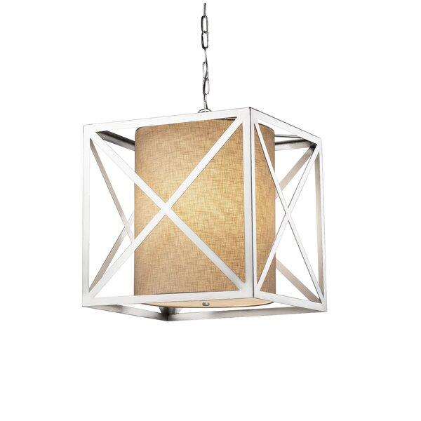 Kenyon 4 - Light Unique / Statement Geometric Chandelier by Brayden Studio Brayden Studio