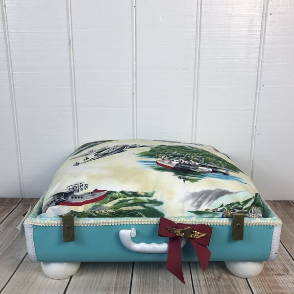 The Stud Fly Boy Pet Suitcase Bed by Queen Tuna Fish Designs