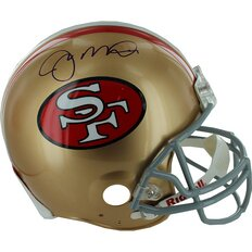 Joe Montana Signed Authentic 49ers Helmet by Steiner Sports