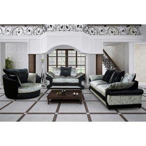 3-tlg. Wohnzimmer-Set Collier von Rosdorf Park