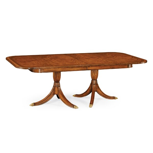 Windsor Regency Extendable Solid Wood Dining Table by Jonathan Charles Fine Furniture Jonathan Charles Fine Furniture
