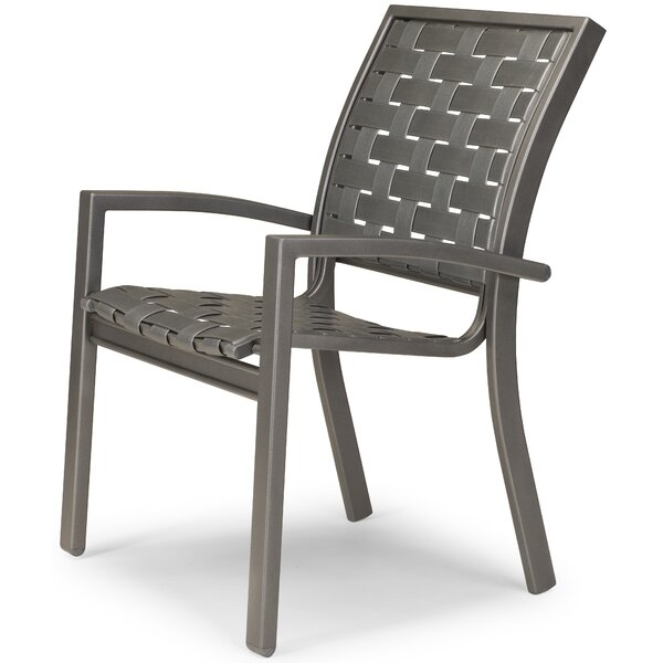 Kendall Stacking Patio Dining Chair (Set of 4) by Telescope Casual