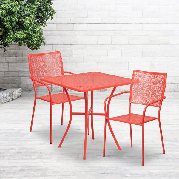 Austral 3 Piece Bistro Set by Wrought Studio Wrought Studio