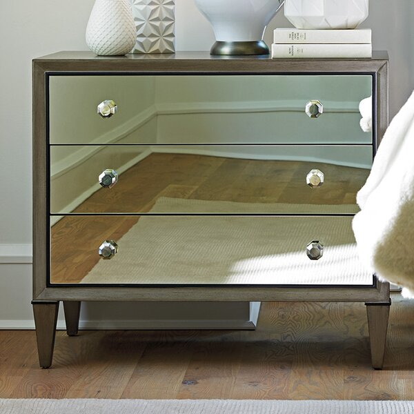 Ariana Divonne 3 Drawer Bachelors Chest by Lexington