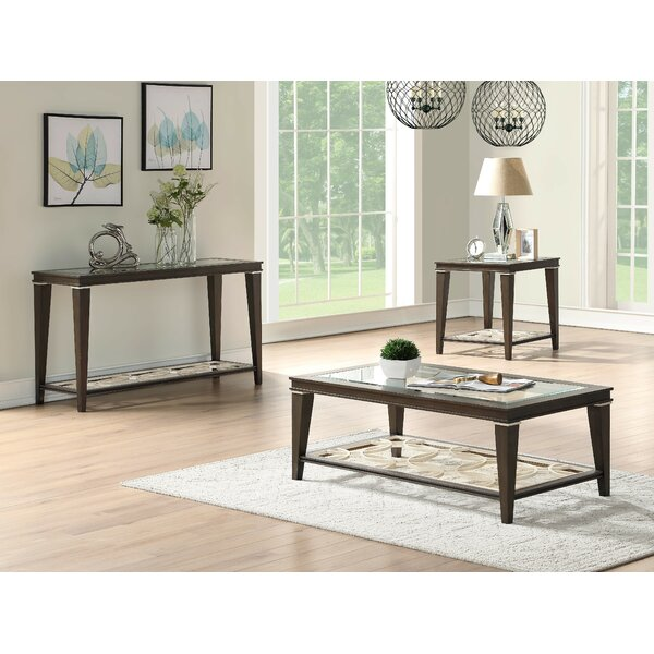 Billington 3 Piece Coffee Table Set by Canora Grey Canora Grey