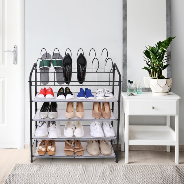 12 Pair Shoe Rack
