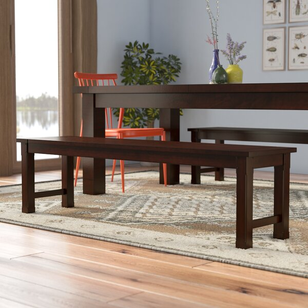 Crivello Wood Bench by Loon Peak