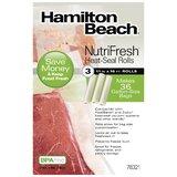 "Hamilton Beach NutriFresh 11"" x 16' Heat Seal"