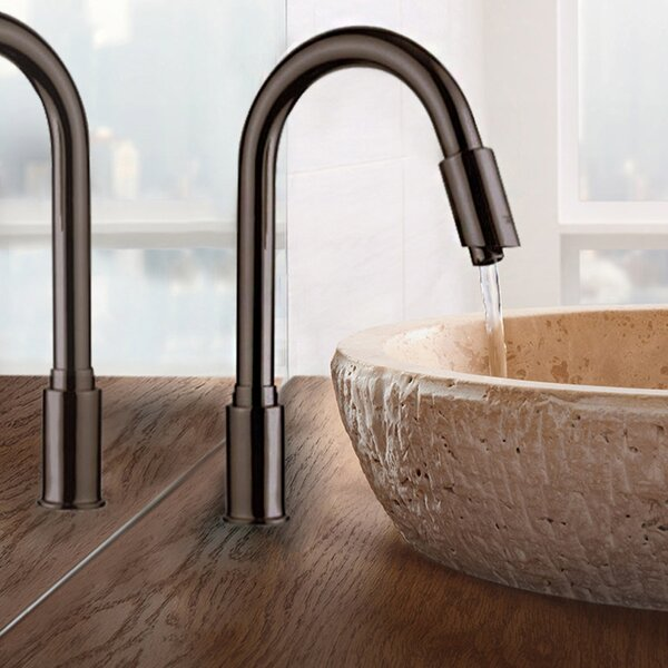 Rio Goose Neck Single Hole Bathroom Faucet Less Handles