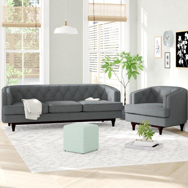 Thomaston 2 Piece Living Room Set by Ivy Bronx