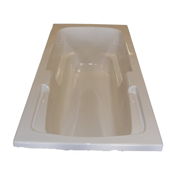 60 x 32 Arm-Rest Whirlpool Tub by American Acrylic