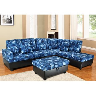 Niantic Sectional with Ottoman Andover Mills