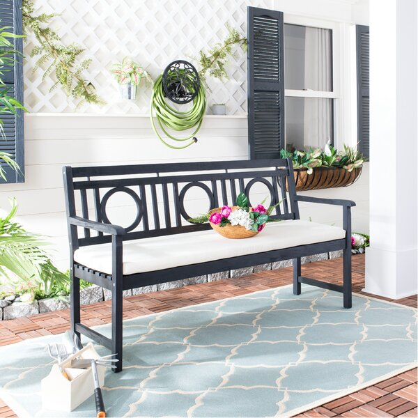 Kuhlmann Wooden Garden Bench By Birch Lane™ Heritage by Birch Lane™ Heritage Fresh