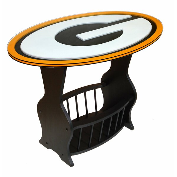 NFL Logo End Table by Fan Creations