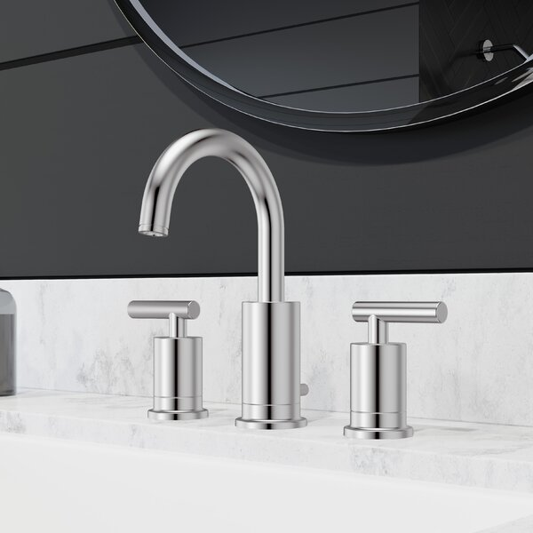 Contempra Double Handle Centerset Faucet Bathroom Faucet with Drain Assembly