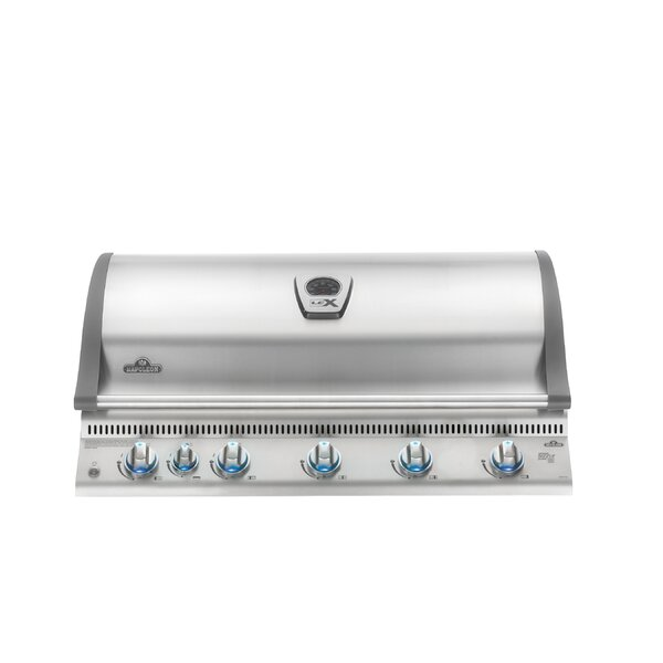 Lex 6-Burner Built-In Gas Grill by Napoleon