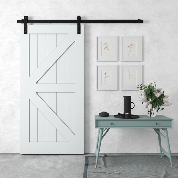Manhattan Sliding Solid Wood Interior Barn Door by Urban Woodcraft