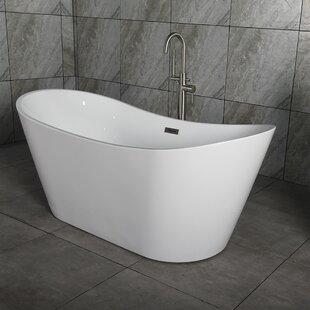 59 61 Inches Freestanding Bathtubs Youu0027ll Love | Wayfair