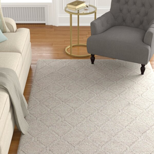 Arend Textured Contemporary Gray Area Rug by Foundry Select