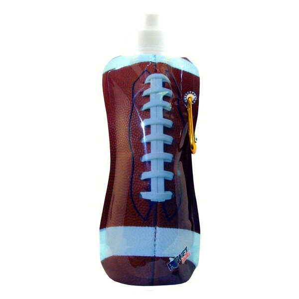 Carnkirk Football 16 oz. Pocket Water Bottle by Winston Porter