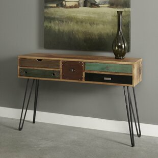 Monico 5 Drawer Console Table