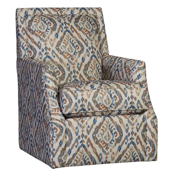 Weigel Swivel Armchair By Darby Home Co