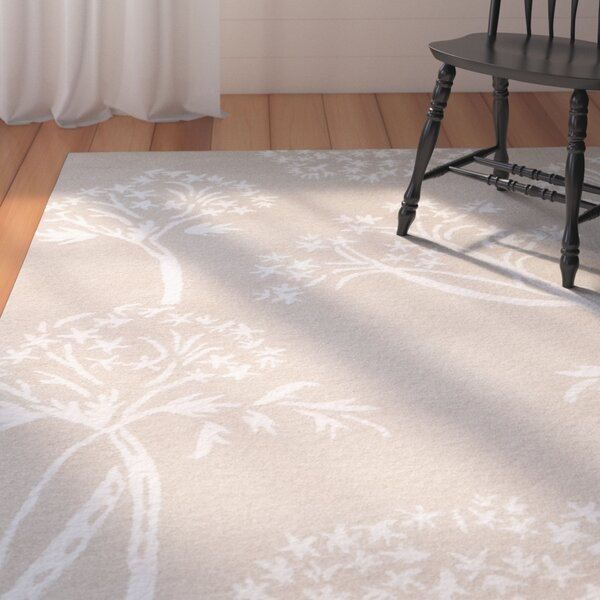Mandy Hand-Tufted Sand / Ivory Area Rug by August Grove