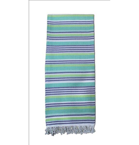 Striped Turkish Cotton Blend Bath Towel by Highlan