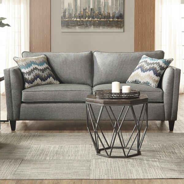 Trendy Modern Elan Upholstery Sofa by Latitude Run by Latitude Run