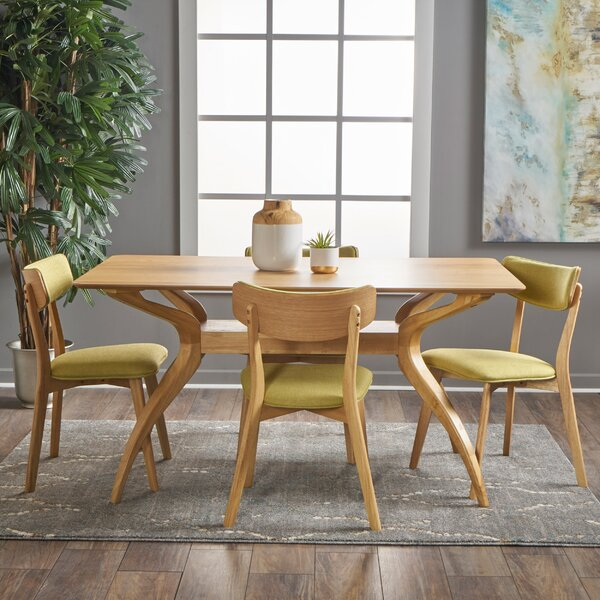 Best #1 Taurean 5 Piece Dining Set By Corrigan Studio Discount
