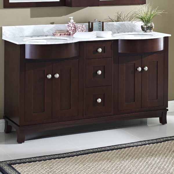 Kester 60 Wood Bathroom Vanity by Darby Home Co