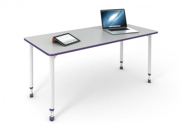 A&D 54'' x 34'' Rectangular Activity Table by Paragon Furniture
