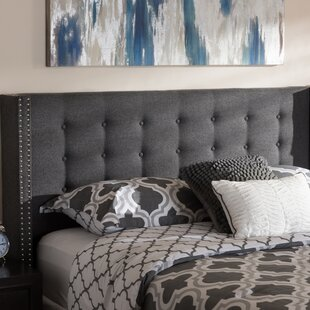 Bella Modern and Contemporary Upholstered Wingback Headboard