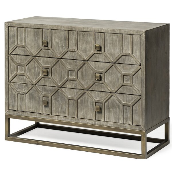 Degroot 3 Drawer Accent Cabinet by Mercer41 Mercer41