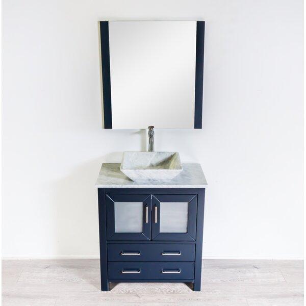 Leena 29 Single Bathroom Vanity Set with Mirror by Wrought Studio