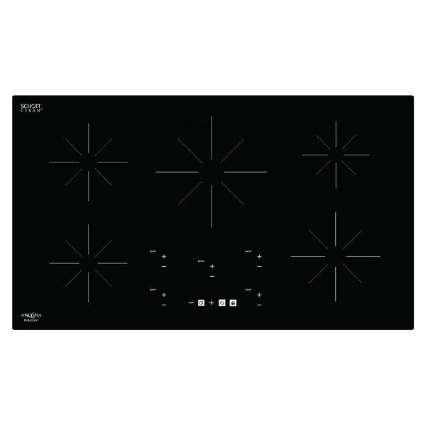 Chef 36 Induction Cooktop with 5 Burners by Ancona